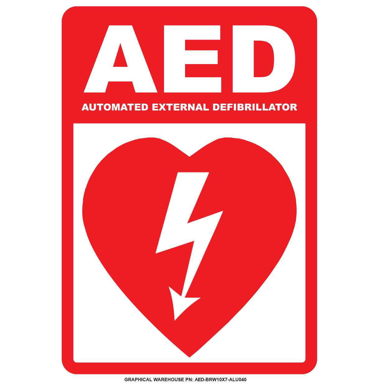 AED sign 01